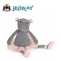 彌月玩具與玩偶推薦到★啦啦看世界★ Jellycat 英國玩具 / 芭蕾河馬  玩偶 彌月禮 生日禮物 情人節 聖誕節 明星 療癒 辦公室小物就在Woolala推薦彌月玩具與玩偶
