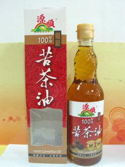 源順~優級100%苦茶油570ml/罐