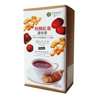 綠源寶~桂圓紅棗薑母茶500公克/盒