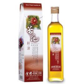 金椿茶油工坊~紅花大菓茶花籽油500ml/罐