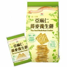 統一生機~亞麻仁蕎麥養生餅294公克/包