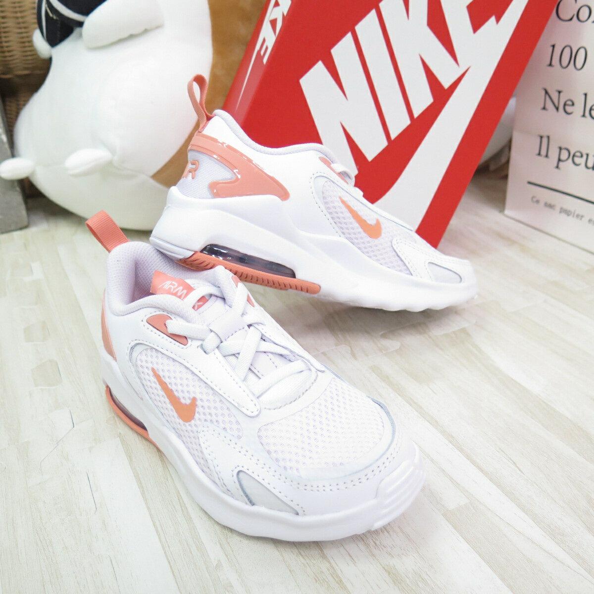 NIKE AIR MAX BOLT (PSE) 中童 氣墊 休閒鞋 CW1627501 白粉【iSport愛運動】