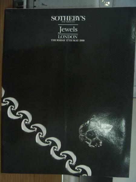 【書寶二手書T6/收藏_PAN】Sotheby's_Jewels london_1990/5/17