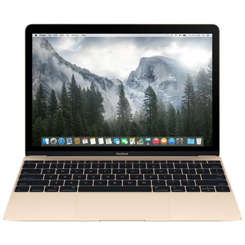 "Apple MacBook MK4N2LL/A 12"" LCD Notebook - Intel Core M Dual-core (2 Core) 1.20 GHz - 8 GB LPDDR3 - 512 GB Flash Memory - Mac OS X 10.10 Yosemite - 2304 x 1440 - Retina Display, In-plane Switching (IPS) Technology - Gold - Intel HD Graphics 5300 - Bluetoo"
