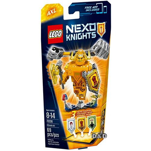 樂高積木LEGO《 LT70336 》Nexo Knights 未來騎士系列 - 終極未來騎士艾克索