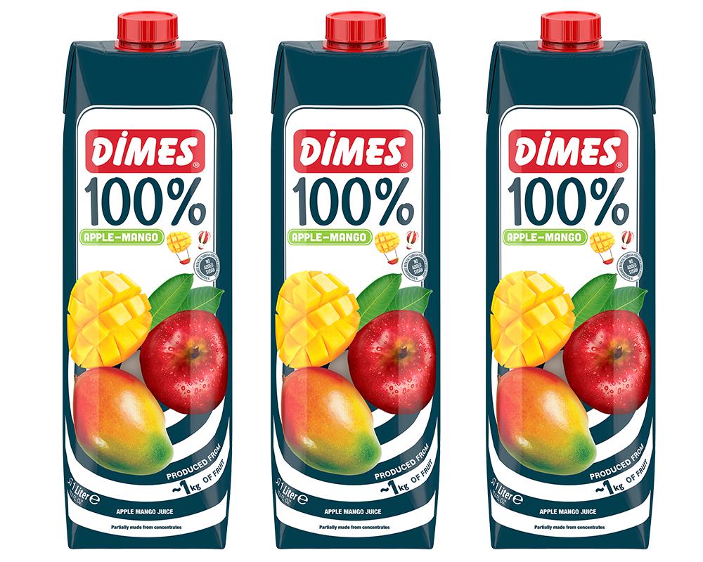 Dimes地美 100%芒果綜合果汁(1000ml*3瓶)免運配送