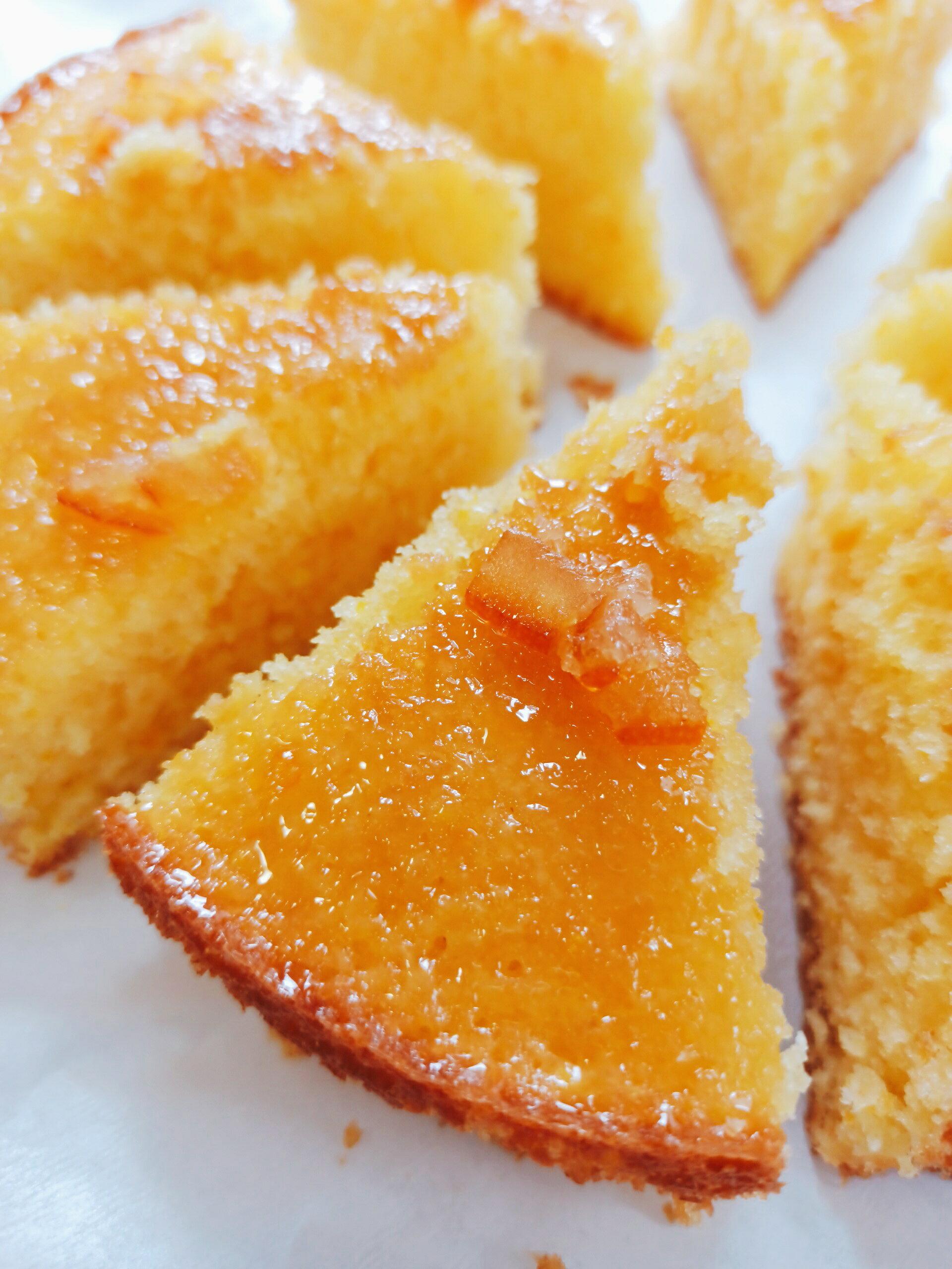 法國沙巴東柑橘蛋糕 (七吋) 手作甜點/蛋糕/點心/下午茶