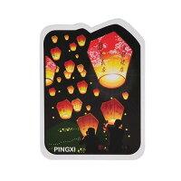 【MILU DESIGN】+PostCard>>台灣旅行明信片-平溪天燈/明信片(台灣文化/祈福/TAIWAN SKY LANTERN) 0
