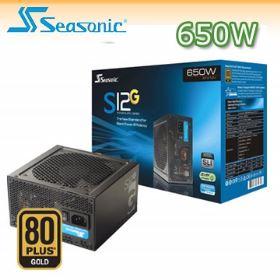 【迪特軍3C】海韻 SSR-650RT Seasonic S12G-650W 80Plus 金牌電源供應器 電腦電源
