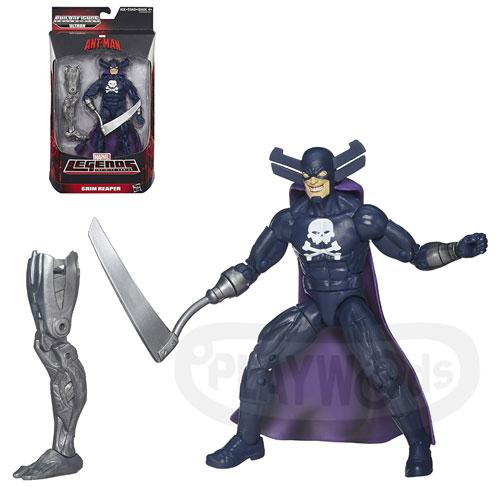 【Playwoods】[蟻人Antman]6吋收藏人物系列: 開膛手Grim Reaper(MARVEL/復仇者聯盟/漫威宇宙/天啟四騎士)