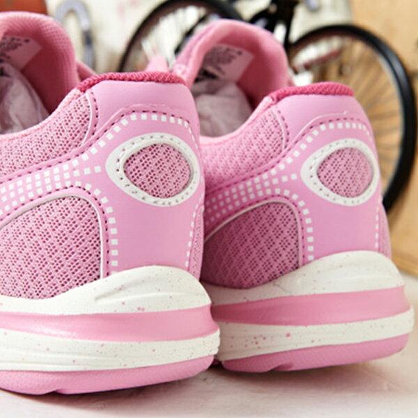 《限時特價799元》Shoestw【61W1ST67PK】PONY 慢跑鞋 網布 透氣 粉紅 女生 2