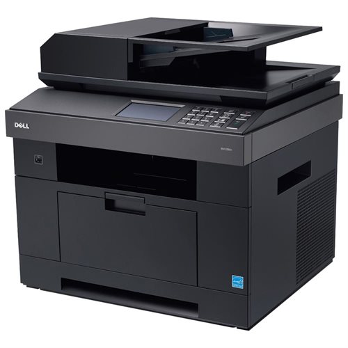 Refurbished Dell 2355DN Multifunction Printer - Monochrome - 35 ppm Mono - 1200 dpi - Printer, Copier, Scanner, Fax - Fast Ethernet - USB: Yes