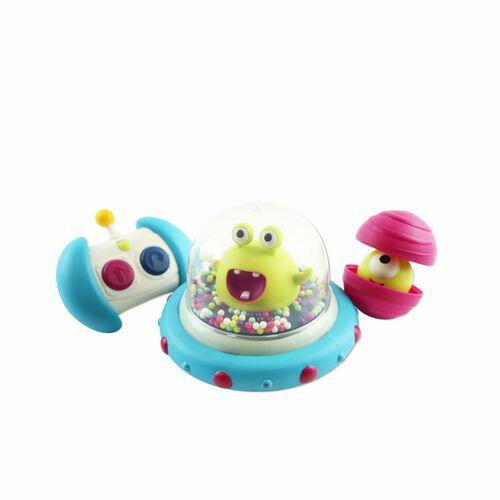 美國【B.Toys】迴轉遙控車-呱呱撞火星(遙控器顏色款式為隨機出貨)★衛立兒生活館★