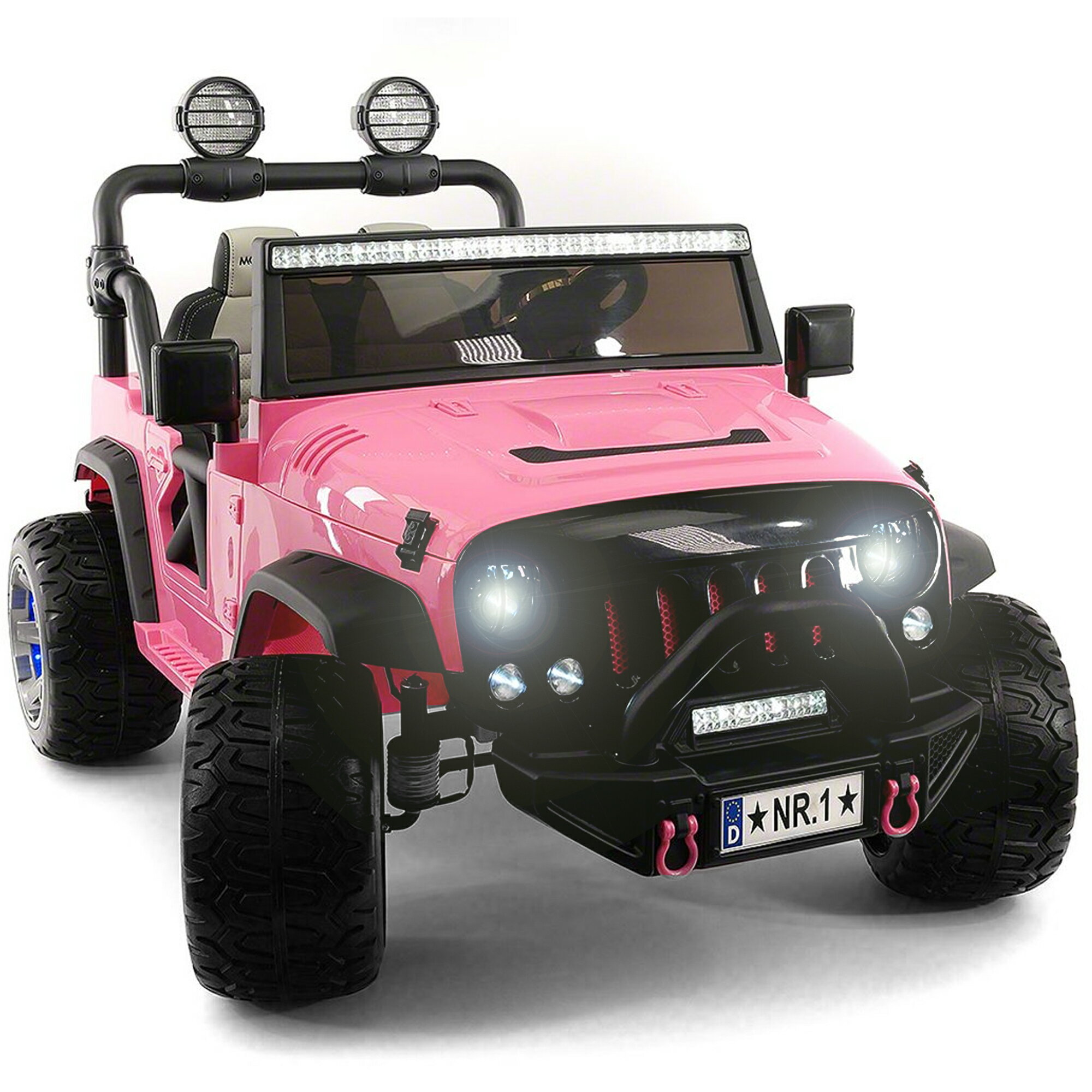 Electric Kids Cars >> 2020 Best Electric Ride On Car Girls Two Seater Truck With Remote Control For Kids Large Capacity 12v Power Battery Licensed Kid Car To Drive With 3