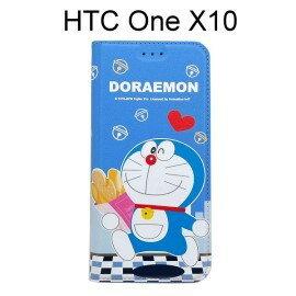 哆啦A夢皮套[麵包]HTCOneX10(5.5吋)小叮噹【正版授權】