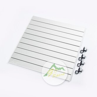 【露營趣】中和 GO SPORT 92423-4 手提式料理桌鋁捲桌面(適98001 92423)