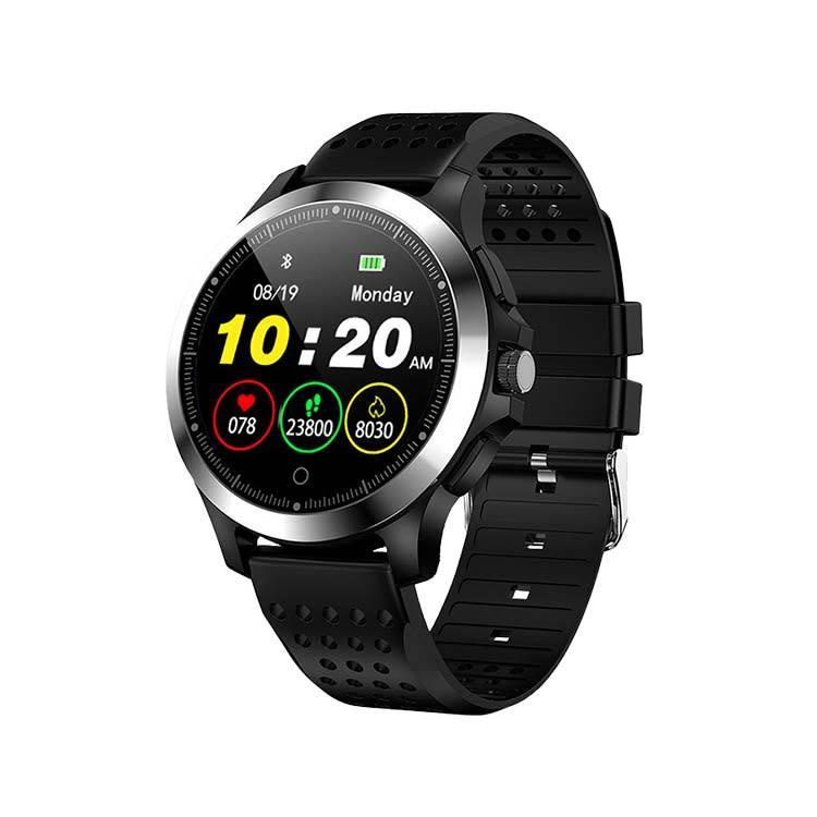 SDWatchW8 智能手錶 多種運動模式 LINE訊息提醒 心律睡眠偵測 IP67防水 皮革款 1