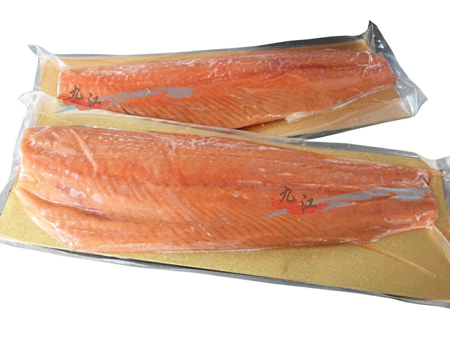 【九江】智利頂級鮭魚清肉---無刺、無包冰、油脂均勻好鮮嫩---✦
