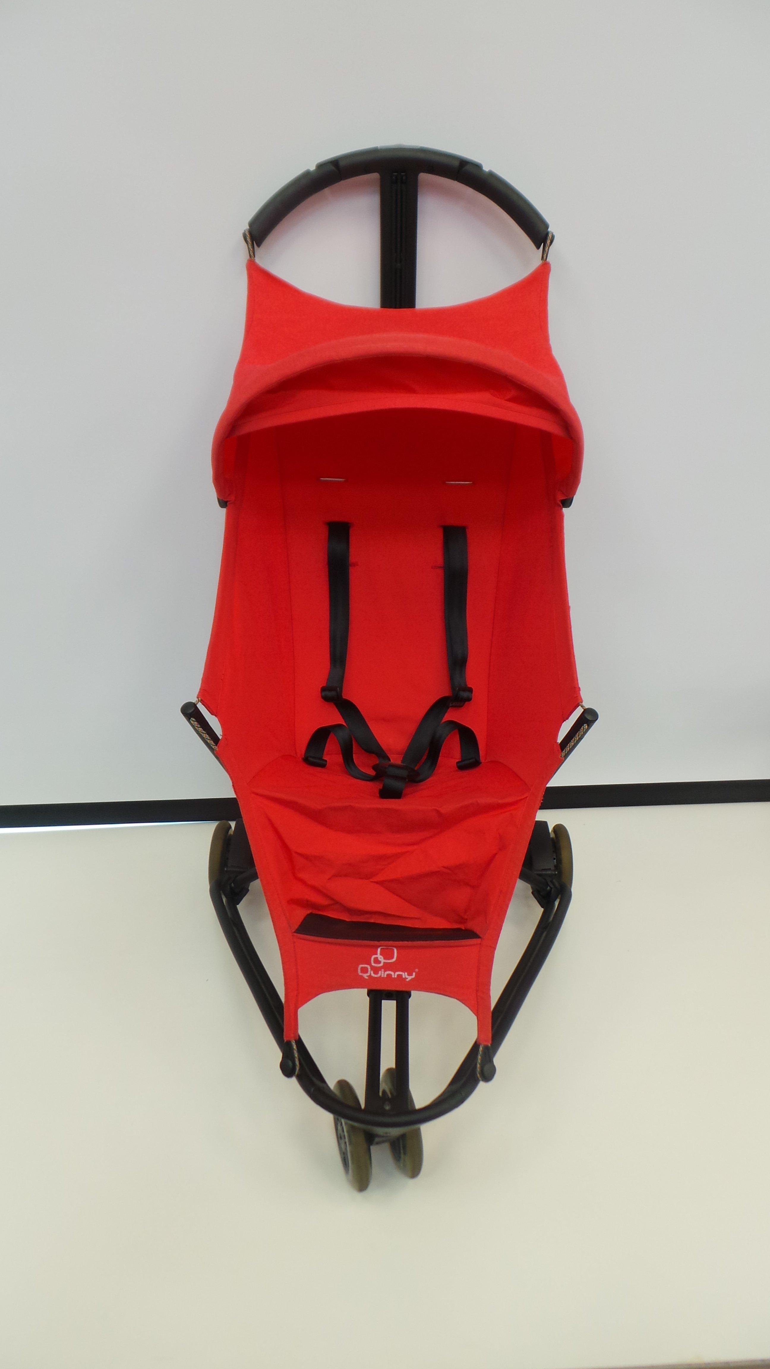 【紫貝殼*二手出售】荷蘭 Quinny Yezz 時尚手推車 車重4.3公斤