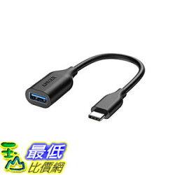 [107美國直購] 適配器 Anker USB-C to USB 3.1 Adapter, Converts USB-C Female into USB-A Female, Uses USB OTG Technology