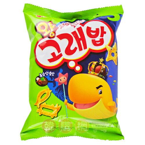【韓購網】韓國好麗友鯨魚王餅乾56g★可愛海底動物造型餅乾★Orion韓國進口零食餅乾