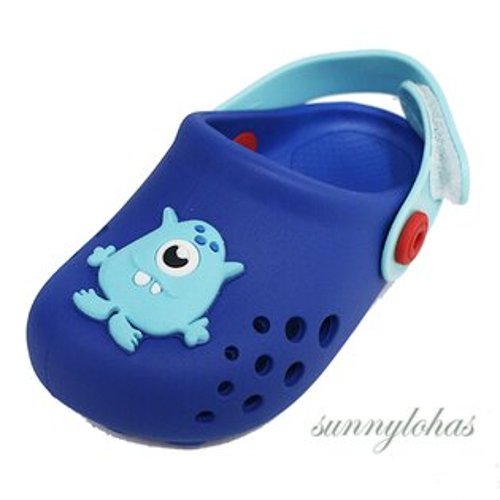 RIDER巴西寶寶運動洞洞鞋涼鞋布希鞋-RI8233420729藍色[陽光樂活]
