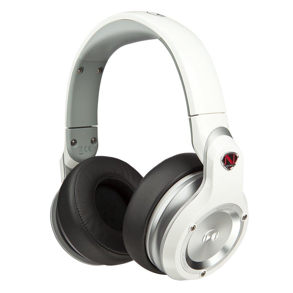 美國 MONSTER N-Pulse ( 白色) 全罩式耳機,公司貨,附保卡保固一年,原價8400