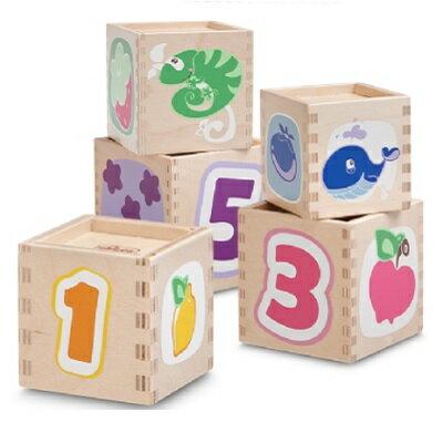 【安琪兒】義大利【Chicco】木製3D立體方塊疊疊樂-18m+ - 限時優惠好康折扣