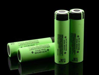 商檢合格 日本松下(國際牌) 松下3400mAh/18650 平頭 凸頭 充電鋰電池 贈雙用電池盒 松下國際牌3400
