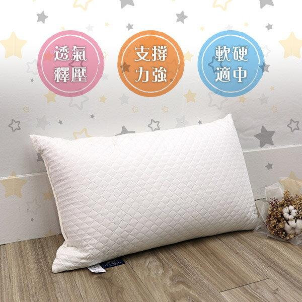 記憶枕 枕頭 高週波壓合《中高支撐度釋壓記憶枕》-台客嚴選 2