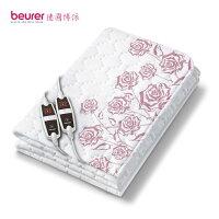 電暖器推薦【德國博依 beurer】德國製 離子抗菌床墊型電毯 (雙人雙控定時型) (TP66XXL)