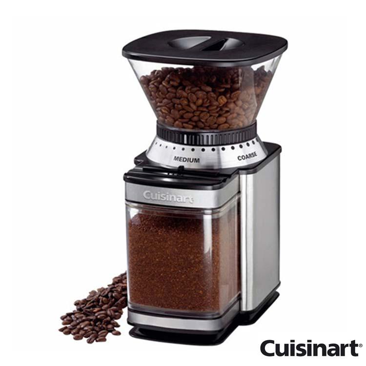 【美國 美膳雅Cuisinart】18段專業咖啡研磨器(DBM-8TW)