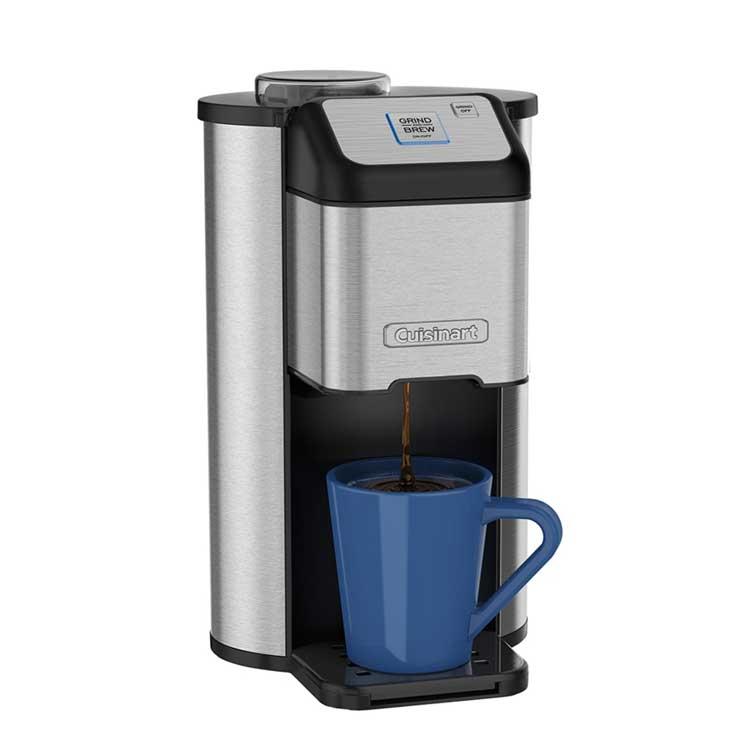 【美國 美膳雅Cuisinart】『 贈不鏽鋼保溫瓶 』全自動研磨美式咖啡機(DGB-1TW)