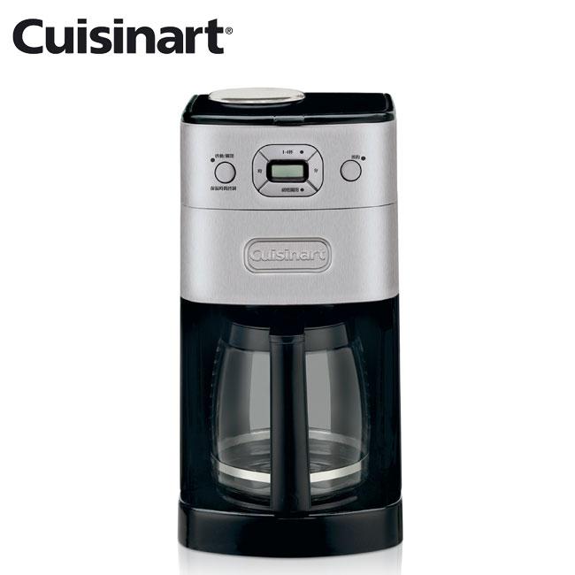 【美國 美膳雅Cuisinart】12杯全自動研磨美式咖啡機 可保溫 (DGB-625BCTW)