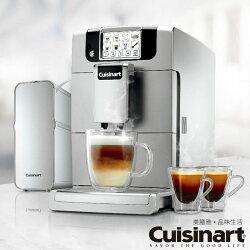 加贈飛利浦電磁爐+咖啡豆1磅【Cuisinart 美膳雅】全自動義式濃縮咖啡機 EM-1000TW