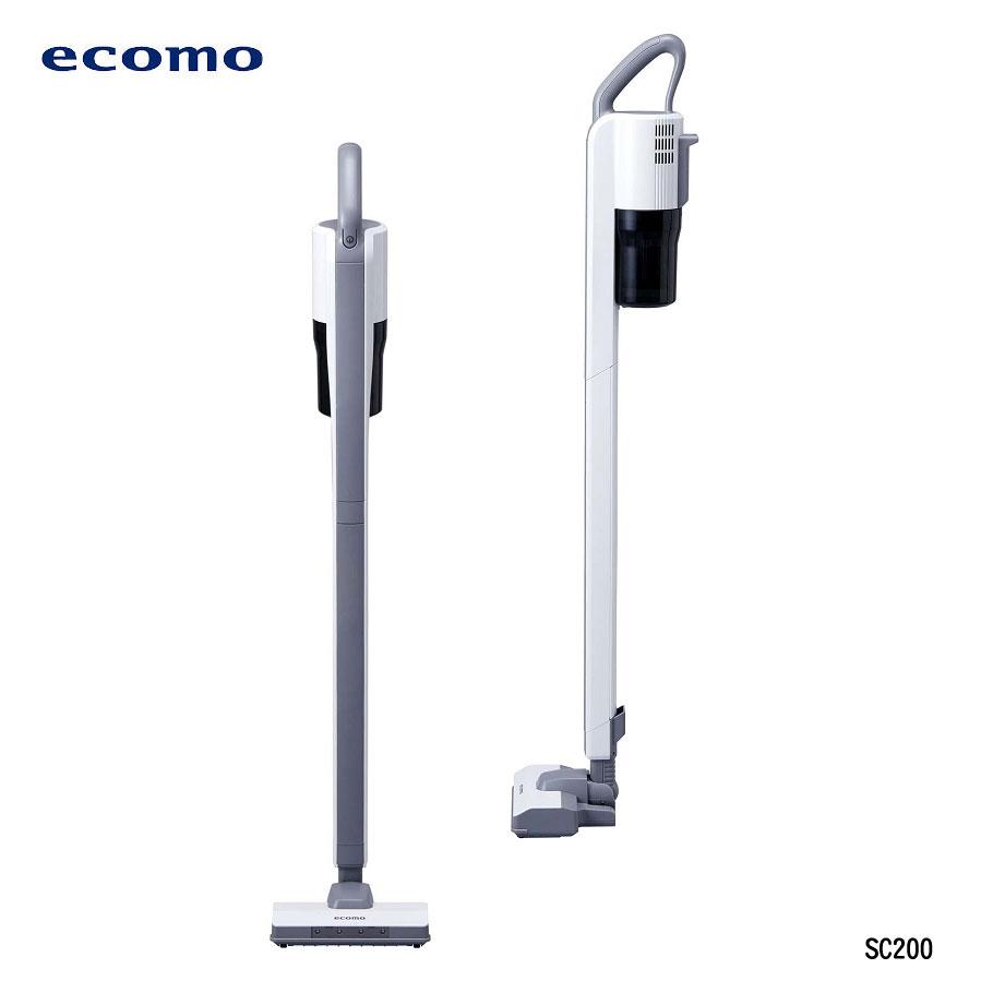 【ecomo】 無線吸塵器+濾網+毛刷 AIM-SC200