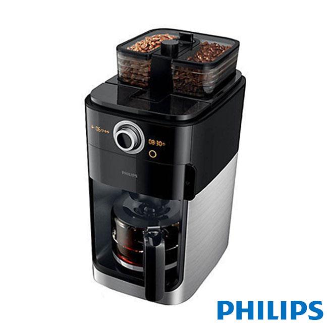 【飛利浦 PHILIPS】【送咖啡豆1磅+保溫瓶】2+全自動美式咖啡機 (HD7762)