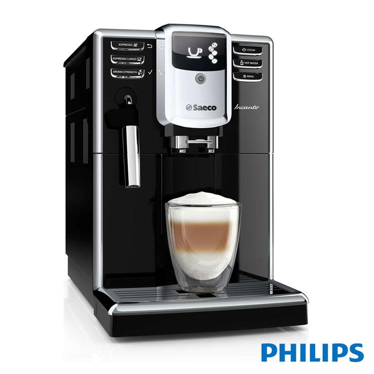 贈咖啡豆1磅+飛利浦快煮壺HD9322【飛利浦 PHILIPS】Saeco Incanto 全自動義式咖啡機(HD8911)
