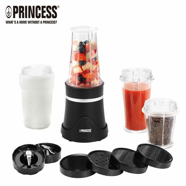 【荷蘭公主 PRINCESS】隨行冰鎮果汁機 亦可當磨豆機 研磨咖啡豆等乾料(212065)