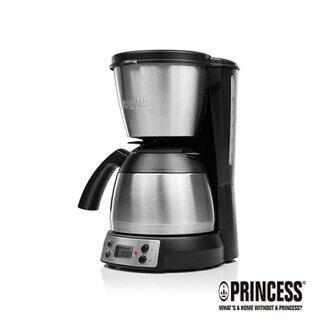 贈咖啡豆一磅【荷蘭公主 PRINCESS】1.2L美式咖啡機/不鏽鋼保溫咖啡壺 (246009)