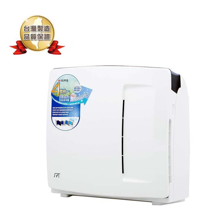 【尚朋堂】台灣製『加贈濾網共活性碳*3+HEPA*2+蜂巢*2』空氣清淨機(SA-2258DC)