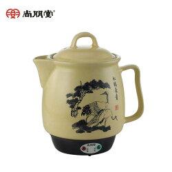 【尚朋堂】《送清潔海綿》台灣製 陶瓷藥膳壺(日本進口溫控) (SS-3200)