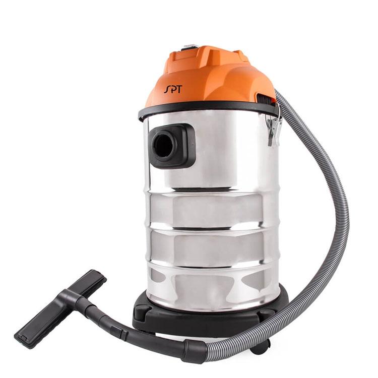 【 SPT尚朋堂】【濾心可水洗 不需耗材】營業用乾濕吹HEPA強力吸塵器 (SV-919)