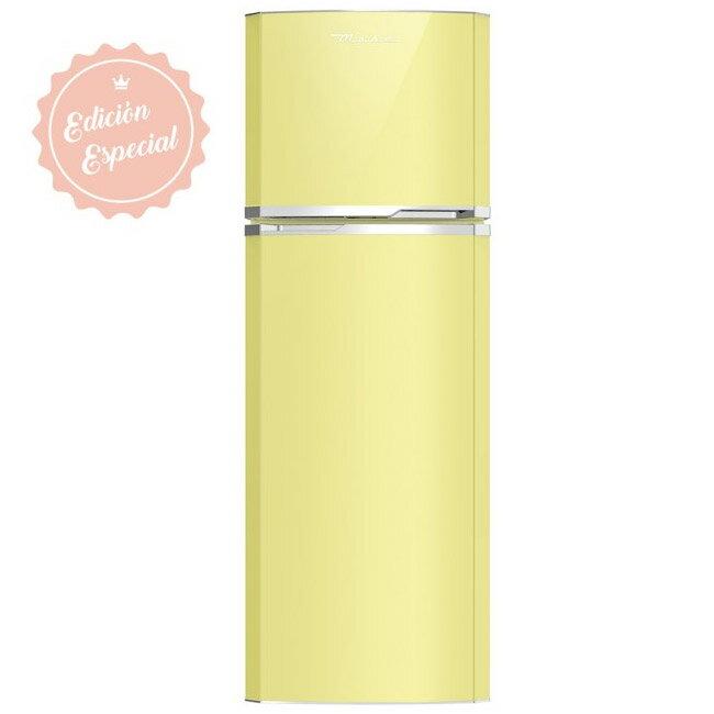【Mabe 美寶】265L限量特仕款經典上下門冰箱(芥末黃 RMA1025VMXI)