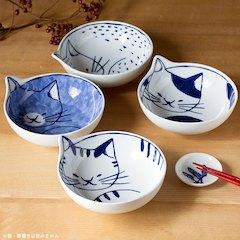 |日本空運|波佐見燒 neco貓咪小缽 日本製 ねこ ネコ かわいい|4款|現貨|代購熱門商品
