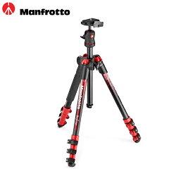 ◎相機專家◎ 送PIXI SMART Manfrotto NEW Befree color 自由者旅行腳架套組 MKBFRA4RD-BH 紅色 公司貨