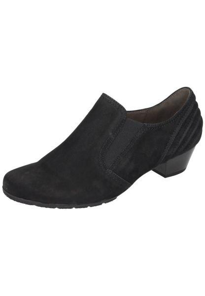 Gabor 歐美英倫時尚秋冬懷靴 黑  低粗跟│顯瘦│寬楦 1
