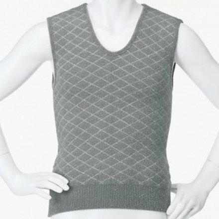 福恩健康生活館:科技纖維暖暖貼身內穿背心-男