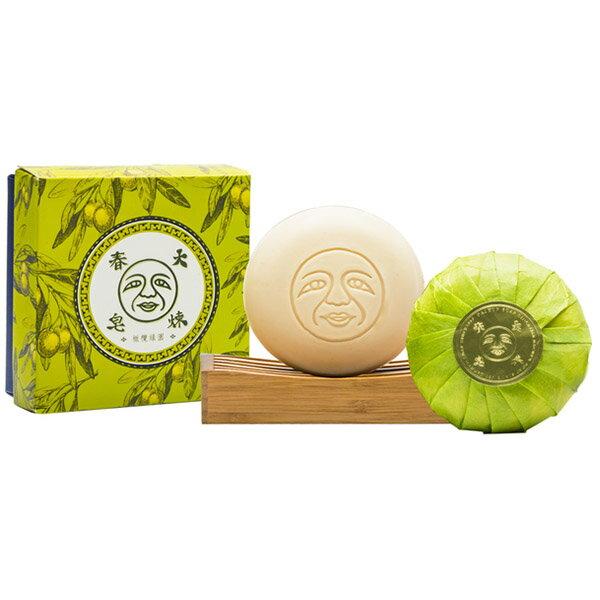 大春煉皂 橄欖綠園柔膚香皂 草本森巴(150g/塊)x1