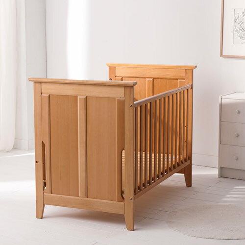 Baby City 櫸木嬰兒床+彈簧床墊組【悅兒園婦幼生活館】